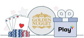 Golden Nugget Play+ bonus