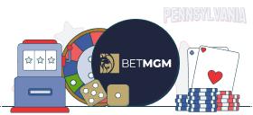 betmgm casino games pa