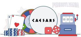 caesars casino games pa