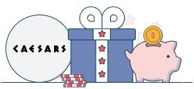 caesars no deposit bonus