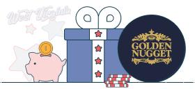 golden nugget deposit bonus wv