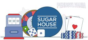 sugarhouse casino games pa