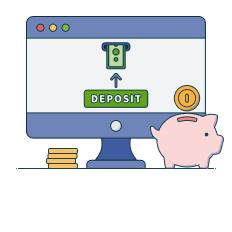 cashier deposit
