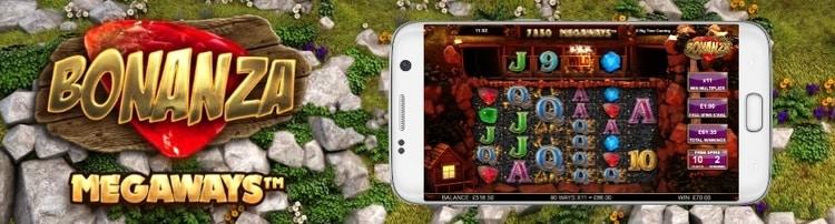 bonanza megaways mobile