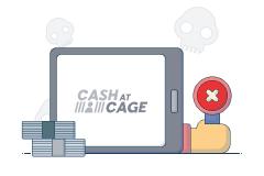 Cash at Cage logo
