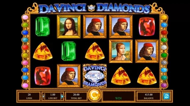 da vinci diamonds base game