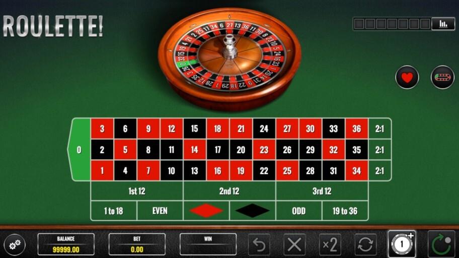 igt roulette base game