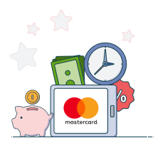 mastercard transaction limits, time and fees
