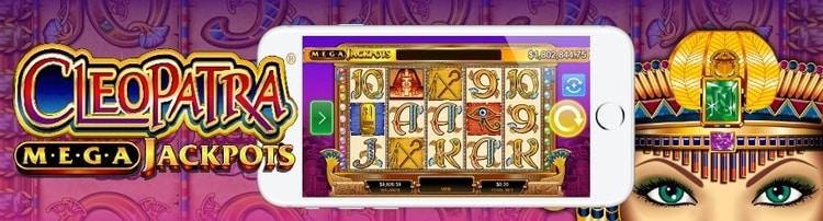megajackpot cleopatra mobile