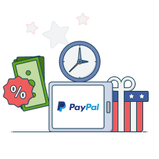 paypal fees deposits time