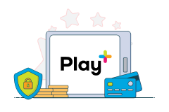 play+ logo