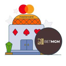 betmgm and mastercard logo