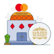 golden nugget and mastercard logo