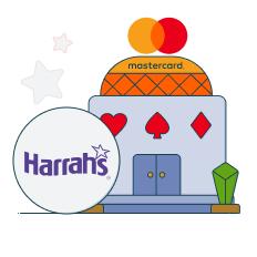 harrahs and mastercard logo