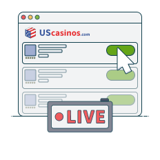 choose a live dealer online casino from our list