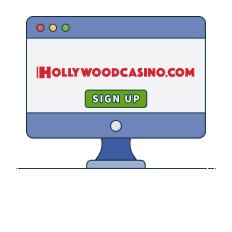 hollywood casino register