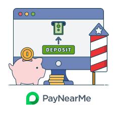 deposit and play paynearme