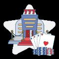 WV poker table