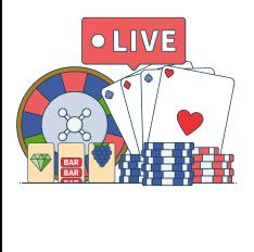 select a live dealer game