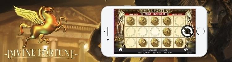 divine fortune mobile view