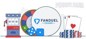 fanduel casino games PA