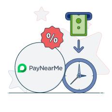 paynearme withdrawal time fees