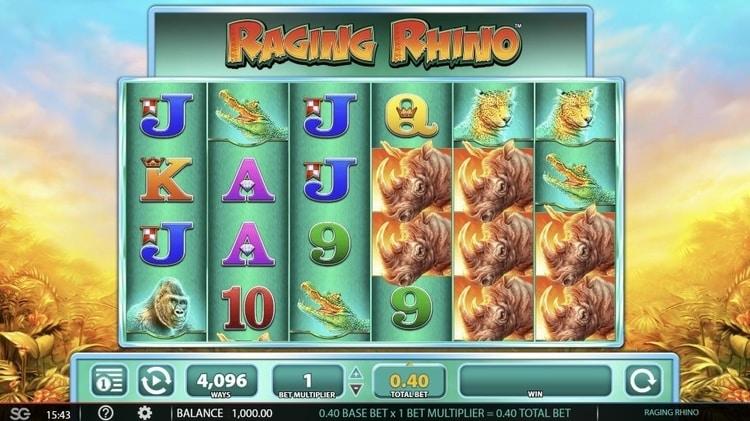 raging rhino base game