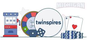 twinspires casino games michigan
