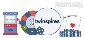 twinspires casino games PA