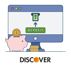 discover casino deposit