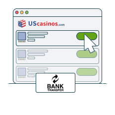 check out bank transfer casino top list