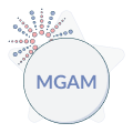 multimedia games logo with firework graphic