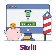 make a skrill deposit
