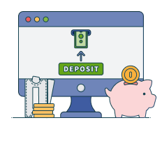 deposit code