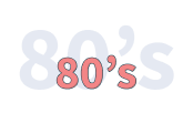 the 80s years