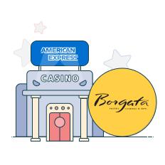 borgata casino and amex logo