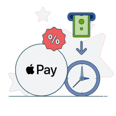 apple pay transaction times, limits and fees