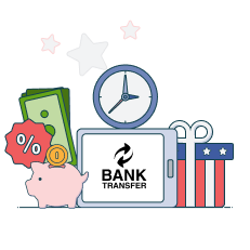bank transfer casino limits, times and fees