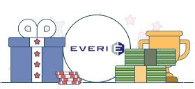 everi logo and casino symbols