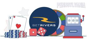 betrivers casino games PA