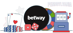 betway casino games pa