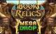 book of relics megadrop slot logo