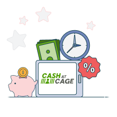cash at cage transfer limits, fees and times