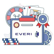 everi logo and game symbols