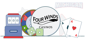 four winds casino games
