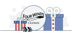 four winds casino match bonus