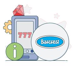 barcrest logo and info symbols