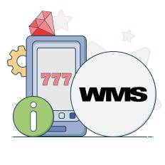 wms logo and info symbols