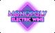 monopoly electric wins slot logo