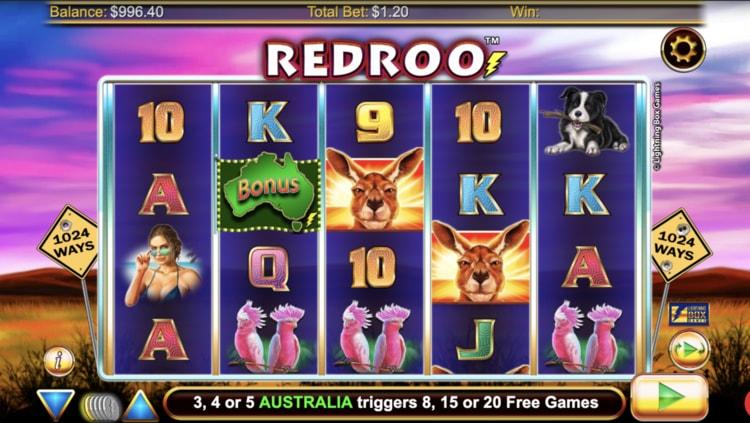 red roo slot screenshot